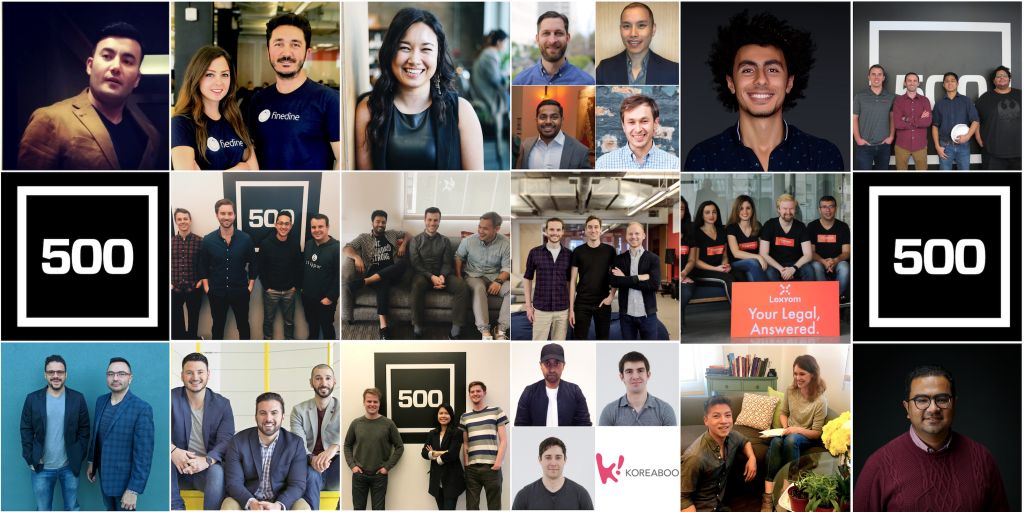 Finedine Menu joins 500 Startups!